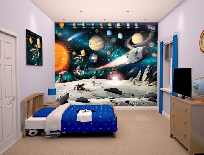 Kids room paper wallpapers | Homewallmurals